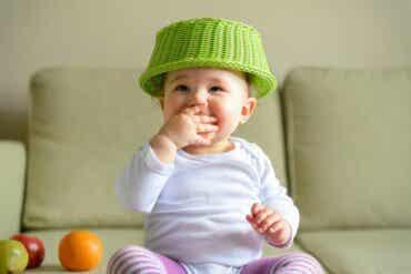 Le panier à trésor, un jeu pour bébé