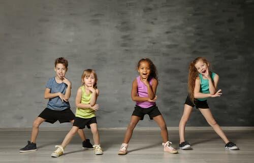 Les bénéfices de la danse moderne pour les enfants