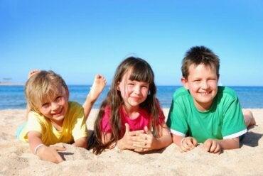 Les changements de routine des enfants avec l'arrivée de l'été