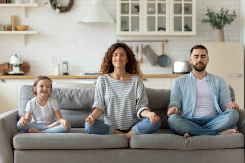 méditation et pleine conscience en famille