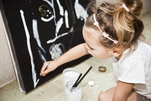 talent d'un enfant