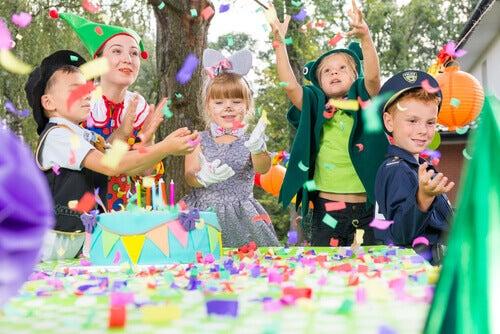 Une fête d'anniversaire.
