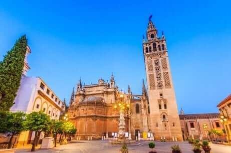 La cathédrale de Séville.