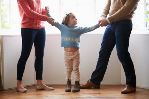 Savoir ménager l'enfant pendant une séparation.