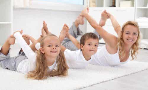 6 idées pour faire du sport avec vos enfants