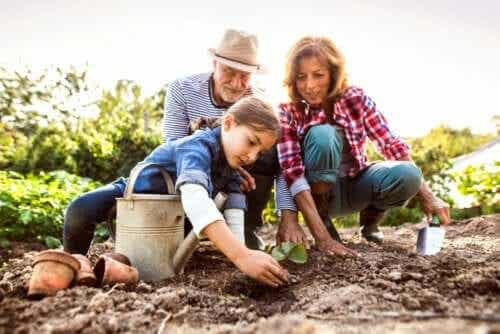 4 idées pour que les petits-enfants n'oublient jamais leurs grands-parents