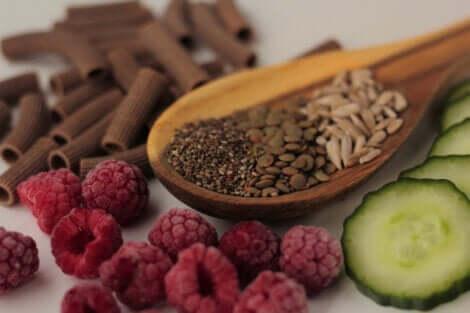 L'alimentation chez les personnes souffrant d'aménorrhée.