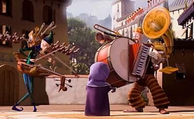 Une image du film L'Homme-orchestre.