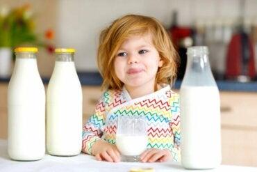 Allergie aux protéines du lait de vache chez les enfants