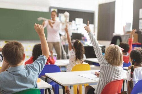 La résilience des enfants dans la classe.