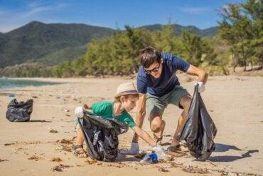 Activités familiales d'éducation à l'environnement