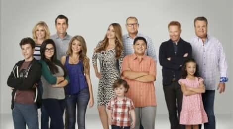 La série Modern Family.