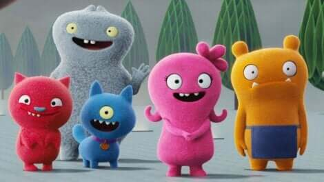 Les personnages d'UglyDolls.