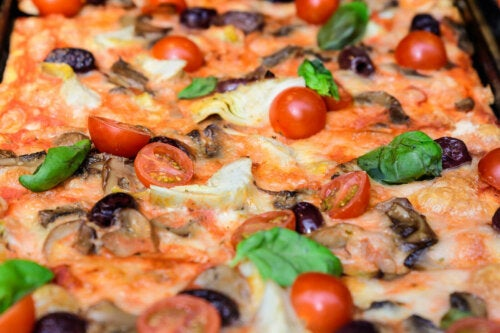 pizzas maison fast-food-saines