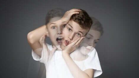 La schizophrénie d'un petit garçon