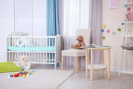 La chambre du nouveau-né.