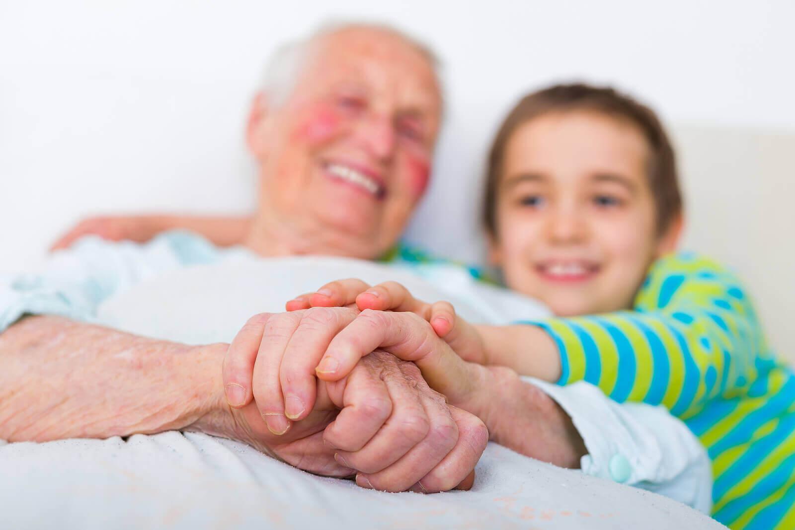 La maladie d'Alzheimer et les enfants.