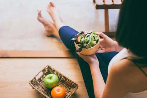 Une alimentation saine avec de la vitamine A.