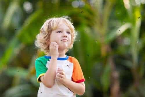 Allergie aux piqûres chez les bébés et les enfants