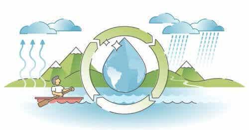 Le cycle de l'eau expliqué aux enfants