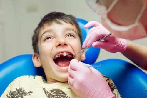 Problèmes dentaires communs chez les enfants
