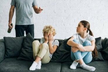 Les enfants de parents alcooliques