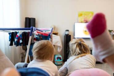 Le syndrome de l'enfant accro aux écrans