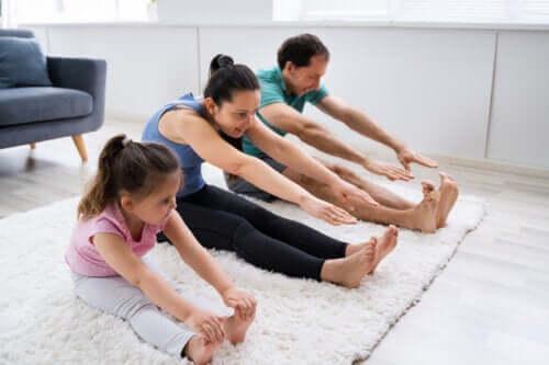 L'importance de maintenir les enfants actifs