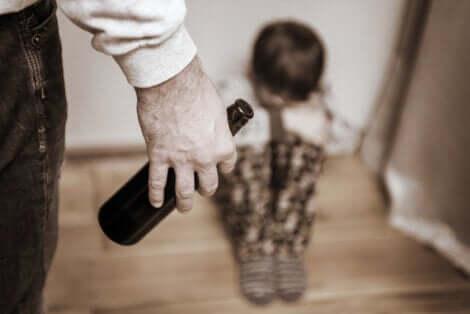 Un père alcoolique.
