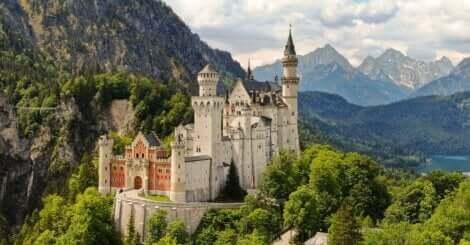 Le château de Neuschwanstein.