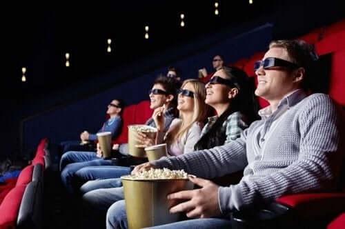 Manger sain au cinéma.