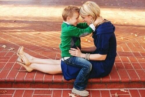 Ne perturbez pas votre enfant avec vos mots, éduquez-le par l'exemple