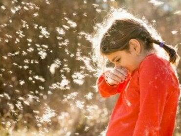Test d'allergie chez les enfants