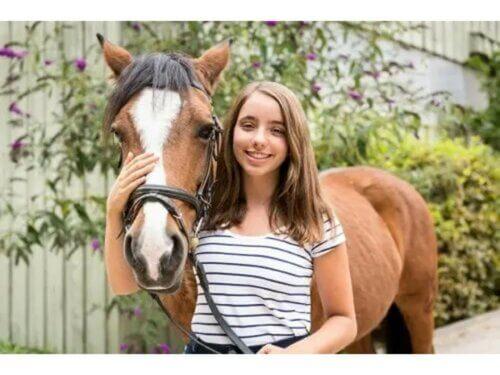 La thérapie animale à l'adolescence