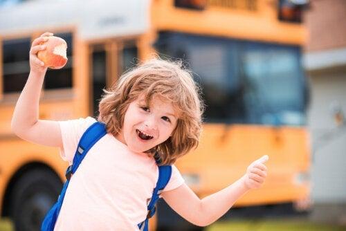 7 phrases pour motiver l'enfant à l'école
