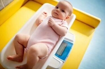 Indice de masse corporelle (IMC) chez les enfants et les bébés