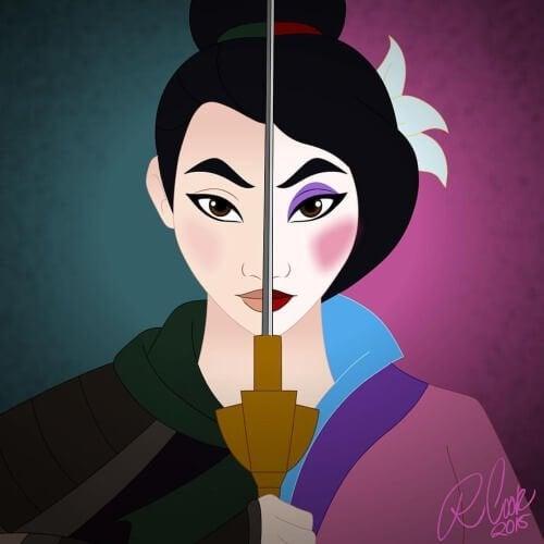 Miranda et sa vision des princesses Disney