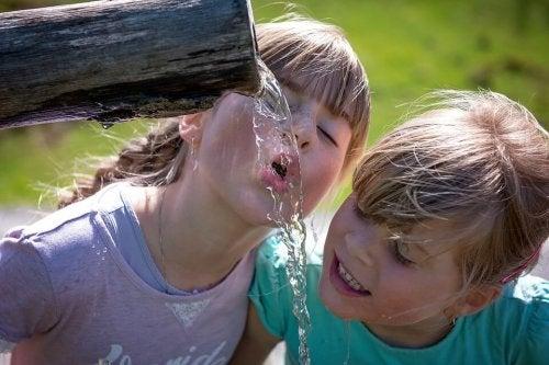Comment soulager les effets de la chaleur sur les enfants