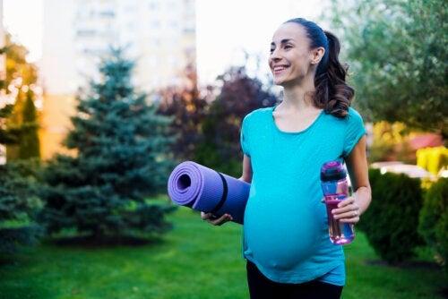 L'exercice pendant la grossesse améliore également la santé du bébé