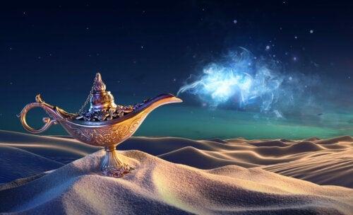 Les 10 phrases d'Aladin
