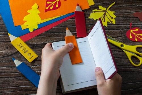 Comment faire un marque-page pour enfants