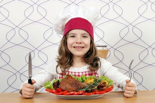 L'importance de la viande dans l'alimentation de l'enfant