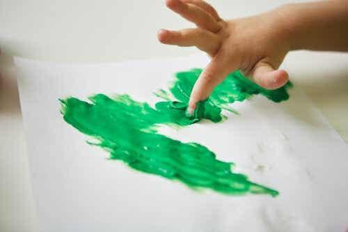 5 bricolages avec de la peinture au doigt