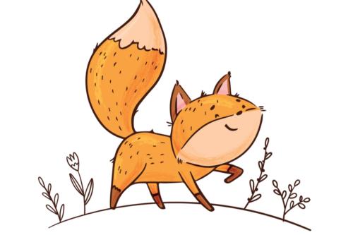 L'histoire courte du renard menteur pour apprendre aux enfants à ne pas mentir