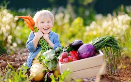 Régime végétalien pour enfants: ce qu'il faut savoir