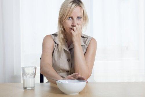 Perte d'appétit pendant la grossesse